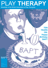 bapt magazine the british association of play therapists